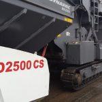 Alimentador móvel Dynapac MF2500CS aumenta produtividade e qualidade em obra na Toscana.